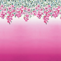 Shanghai Garden Wallpaper | Trailing Rose - Peony | Wall coverings | Designers Guild