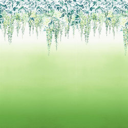Shanghai Garden Wallpaper | Summer Palace - Grass | Wallcoverings | Designers Guild