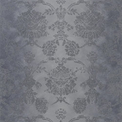 Sukumala Wallpaper | Sukumala - Graphite | Wall coverings | Designers Guild
