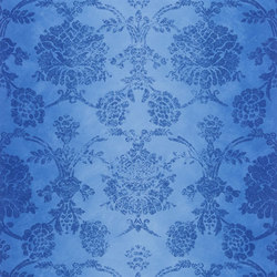 Sukumala Wallpaper | Sukumala - Cobalt | Wallcoverings | Designers Guild
