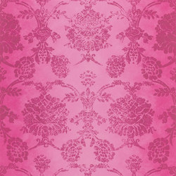 Sukumala Wallpaper | Sukumala - Magenta | Wall coverings | Designers Guild