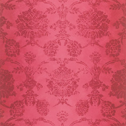 Sukumala Wallpaper | Sukumala - Crimson | Wallcoverings | Designers Guild