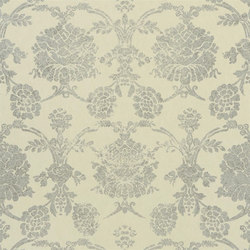 Sukumala Wallpaper | Sukumala Lino - Silver | Wallcoverings | Designers Guild