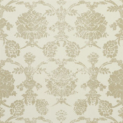 Sukumala Wallpaper | Sukumala Lino - Gold | Wall coverings | Designers Guild