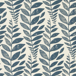 Surabaya Wallpaper | Odhni - Indigo | Wall coverings / wallpapers | Designers Guild