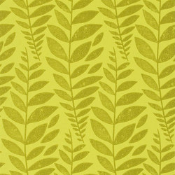 Surabaya Wallpaper | Odhni - Moss | Wallcoverings | Designers Guild