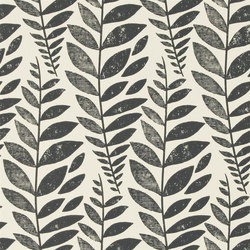Surabaya Wallpaper | Odhni - Noir | Wall coverings / wallpapers | Designers Guild