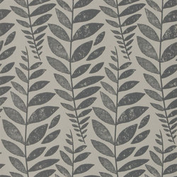 Surabaya Wallpaper | Odhni - Graphite | Wall coverings | Designers Guild