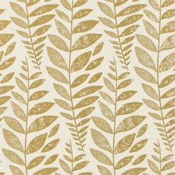 Surabaya Wallpaper | Odhni - Gold | Carta da parati | Designers Guild
