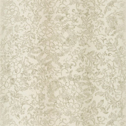 Surabaya Wallpaper | Yuzen - Champagne | Wall coverings | Designers Guild