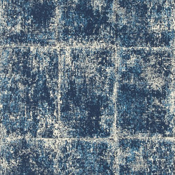 Surabaya Wallpaper | Saru - Indigo | Wallcoverings | Designers Guild
