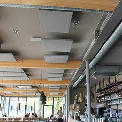 AGORAceiling | Deckensegel | Ceiling systems | AGORAphil