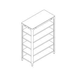 Concept Kitchen – Shelf Module 1900x1330x640 | Cucine modulari | n by Naber