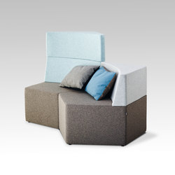 Manhattan | Modular seating systems | HOWE