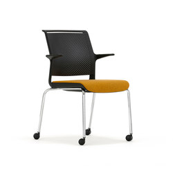 Ad-Lib Four Leg Castors ADL12AC | Chairs | Senator