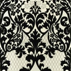 Whitewell Wallpaper | Eldridge - Noir | Wallcoverings | Designers Guild