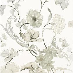 Whitewell Wallpaper | Whitewell - Noir | Carta da parati | Designers Guild