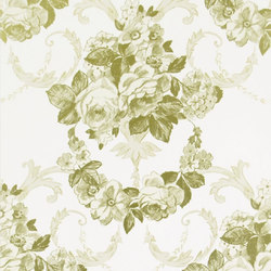 Whitewell Wallpaper | Wharton - Champagne | Wall coverings | Designers Guild