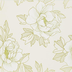 Whitewell Wallpaper | Cecily - Champagne | Carta da parati | Designers Guild