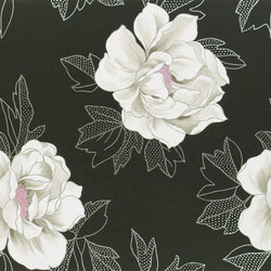 Whitewell Wallpaper | Cecily - Noir | Wandbeläge | Designers Guild
