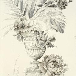 Zephirine Wallpaper | Zephirine - Pebble | Carta da parati | Designers Guild