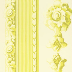 Zephirine Wallpaper | Palazzetto - Chartreuse | Wallcoverings | Designers Guild
