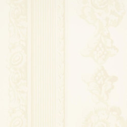 Zephirine Wallpaper | Palazzetto - Chalk | Wall coverings | Designers Guild