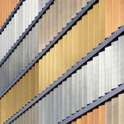 SEFAR® Architecture VISION PR 260/25 Gold | In-situ | Facade cladding | Sefar