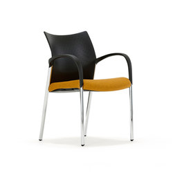 Trillipse Four Leg T104A | Visitors chairs / Side chairs | Senator