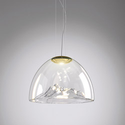 Mountain View SP Crystal/Gold | Illuminazione generale | Axo Light