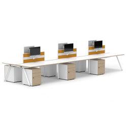 Core BTBC6 CONFIG1 | Desking systems | Senator