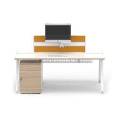 Core BTBC2 CONFIG1 | Individual desks | Senator