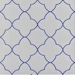 LR 140 Traforo blu | Floor tiles | La Riggiola