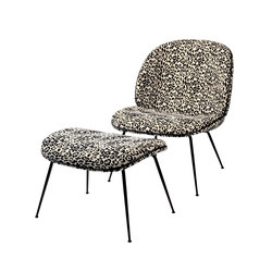 Beetle Lounge Chair and Stool | Sillones lounge | GUBI