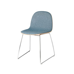 Gubi 2D Chair – Sledge Base | Visitors chairs / Side chairs | GUBI