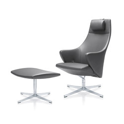 4+ Relax | Lounges chair & stool | Sillones lounge | Züco