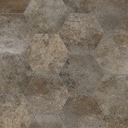 Rewind | Amber Esagona | Floor tiles | TERRATINTA GROUP