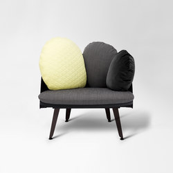 Nubilo | Colors Armchair | Poltrone lounge | Petite Friture