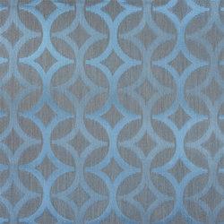 Amaya Fabrics | Koshi - Turquoise | Curtain fabrics | Designers Guild