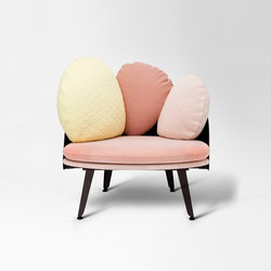 Nubilo | Multicolors Armchair | Poltrone lounge | Petite Friture