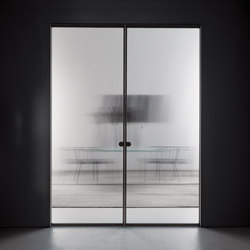 Aladin Pocket Duo | Glass room doors | Glas Italia