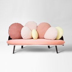 Nubilo | Multicolours Sofa | Divani lounge | Petite Friture