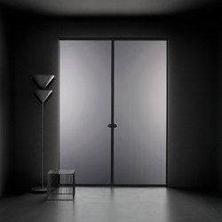 Aladin Pocket Duo | Internal doors | Glas Italia