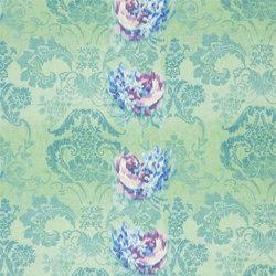 Astrakhan Fabrics | Fergana - Jade | Curtain fabrics | Designers Guild