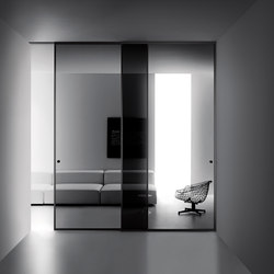 Aladin Slide Duo | Glass room doors | Glas Italia