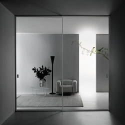 Aladin Slide Duo | Internal doors | Glas Italia