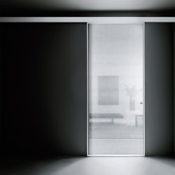 Aladin Slide Mono | Glass room doors | Glas Italia