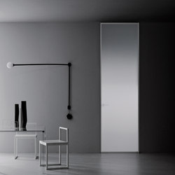 Aladin Swing Plain Duo | Glass room doors | Glas Italia