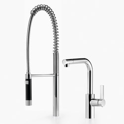 Elio - Mezclador monomando con juego de grifo profesional tipo ducha | Griferías de cocina | Dornbracht