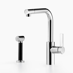 Elio - Single-lever mixer with rinsing spray set | Kitchen taps | Dornbracht